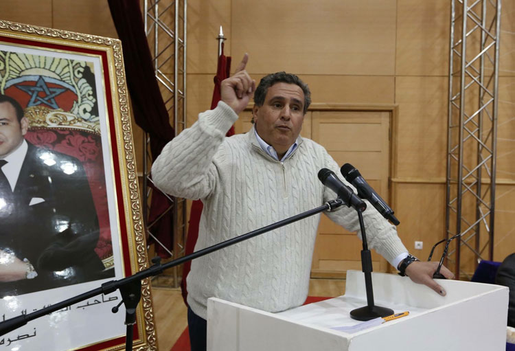 أخنوش يواصل الجولة الجهوية للتجمع الوطني للأحرار من وجدة