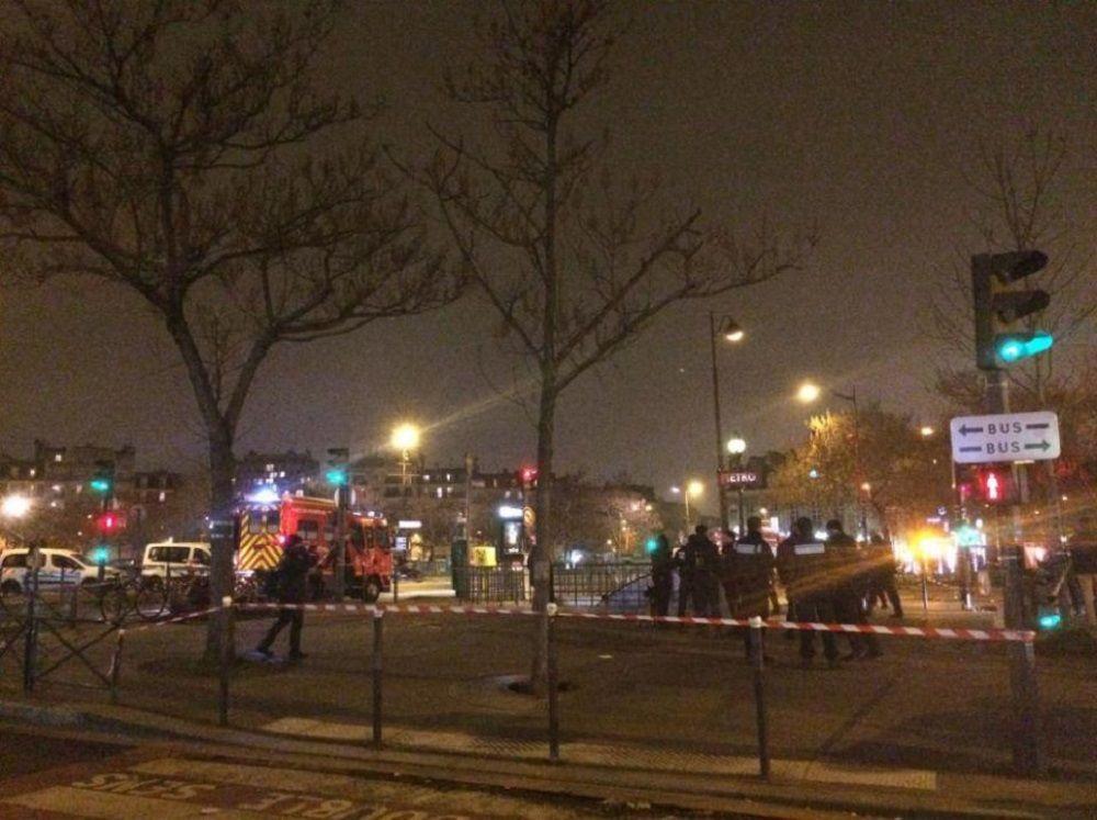 انفجار في ميترو باريس