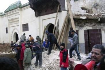 انطلاق محاكمة مندوب الأوقاف والناظر السابق بمكناس المتهمين بـ«الإهمال» في فاجعة انهيار مسجد «باب البردعيين»