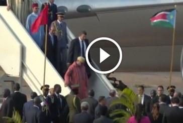 جلالة الملك يحل بجوبا في زيارة رسمية لجمهورية جنوب السودان