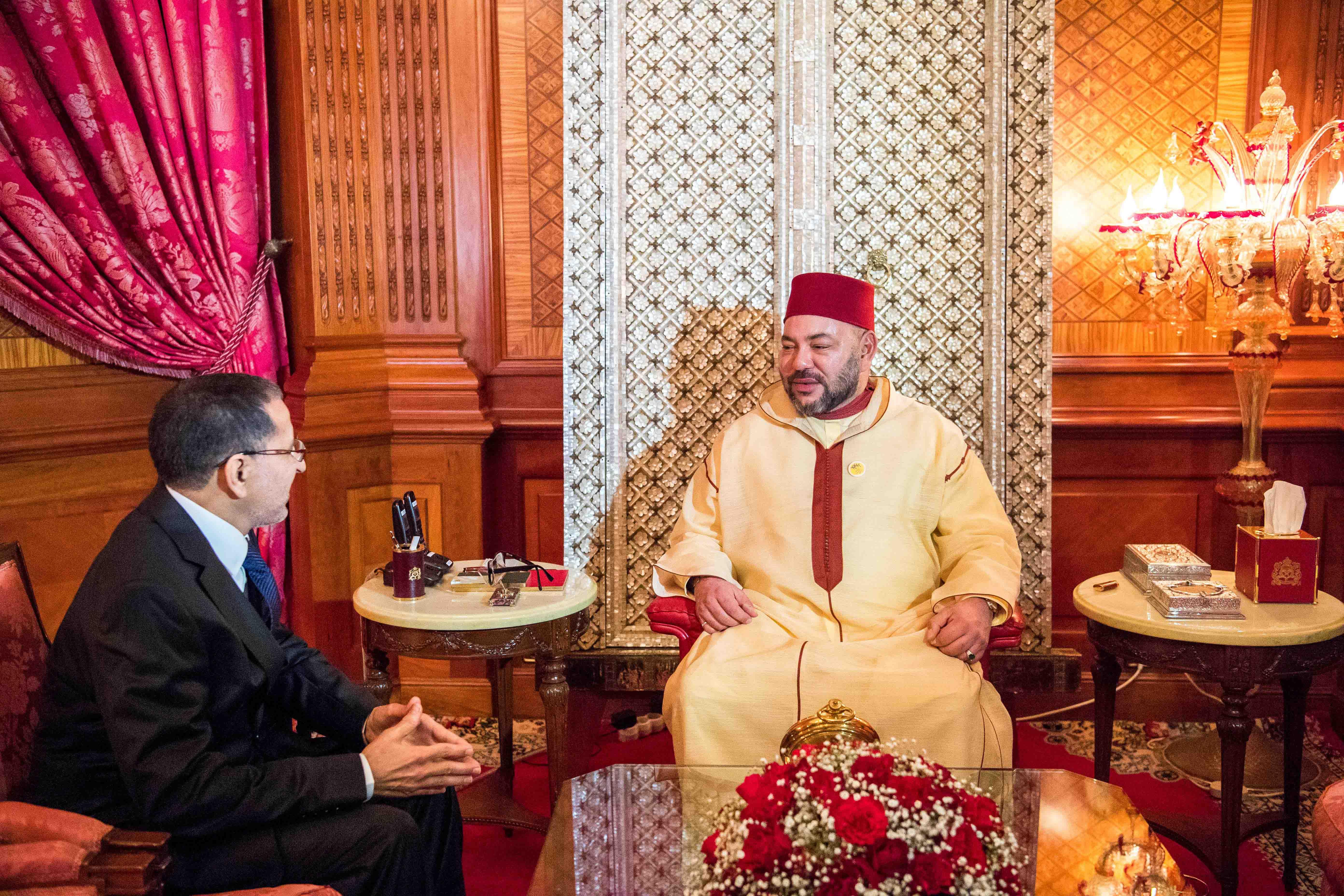 رسميا …الملك يستقبل سعد الدين العثماني ويعنه رئيسا للحكومة