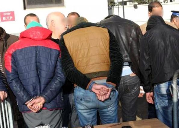 توقيف عناصر شبكة إجرامية خطيرة متخصصة في الاتجار في المخدرات