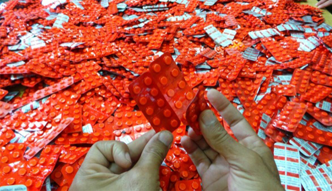 إيقاف مروج للأقراص المهلوسة في أكادير وبحوزته كمية كبيرة من هذه الأقراص