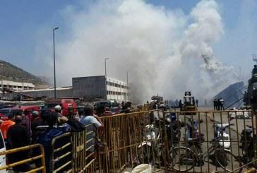 اندلاع حريق في باخرة للصيد بأعالي البحار بميناء أكادير