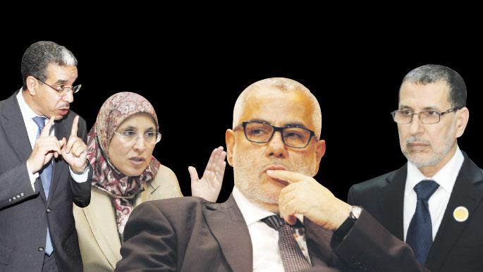 """وزراء """"البيجيدي"""" مستاؤون من بنكيران والحقاوي تلتحق بصف المنقلبين عليه"""