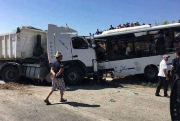 ثلاثة قتلى وأكثر من 20 جريحا في حادث اصطدام حافلة عمومية وشاحنة ضواحي تطوان