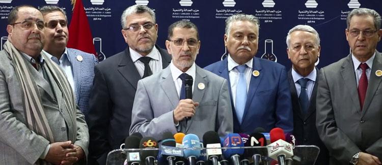 """أحزاب الأغلبية الحكومية تعلن موقفها من """"حراك الريف"""""""