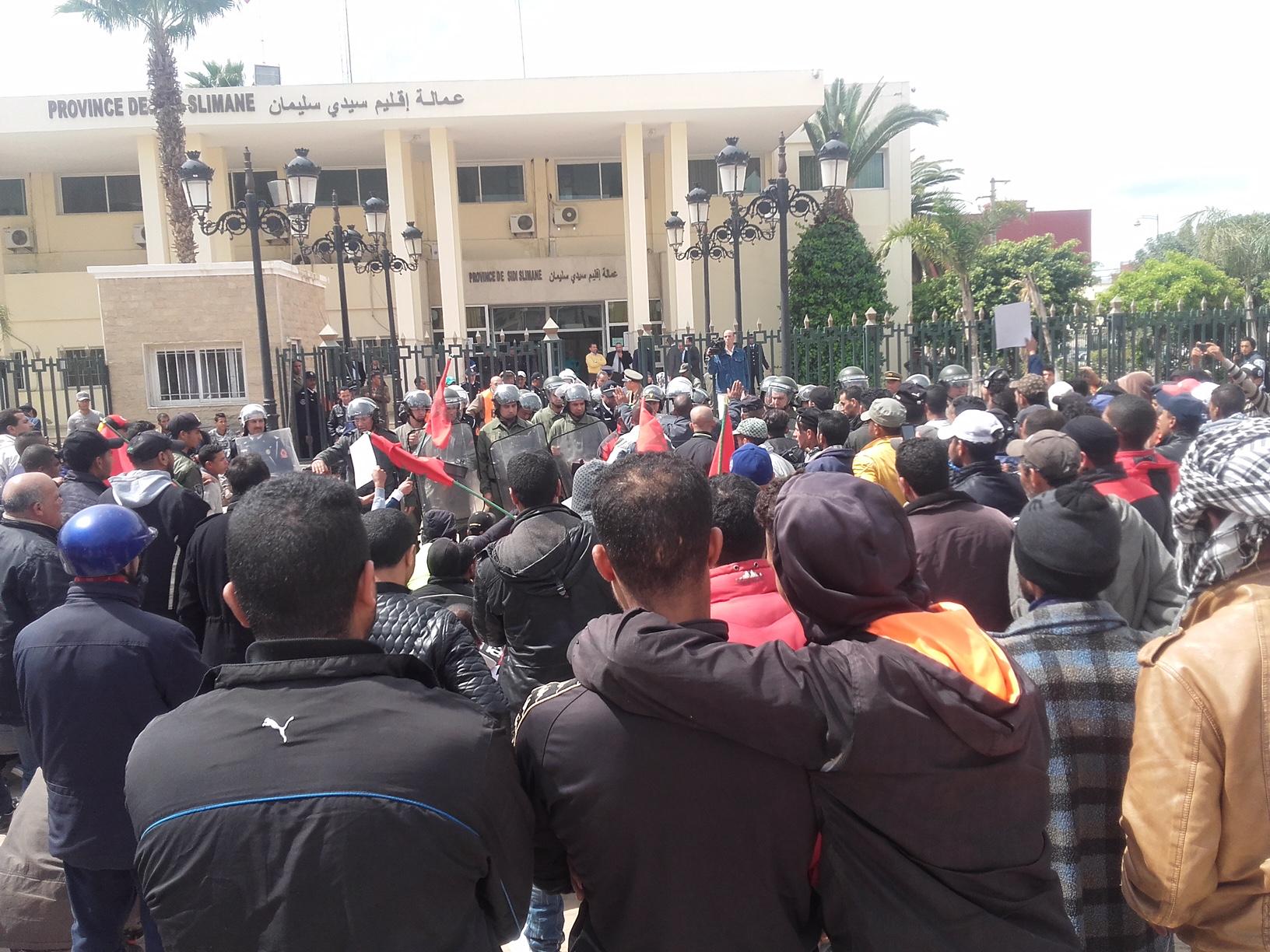 هكذا تسبب ضعف أداء مسؤولي إقليم سيدي سليمان في ارتفاع مؤشري العطالة والإجرام