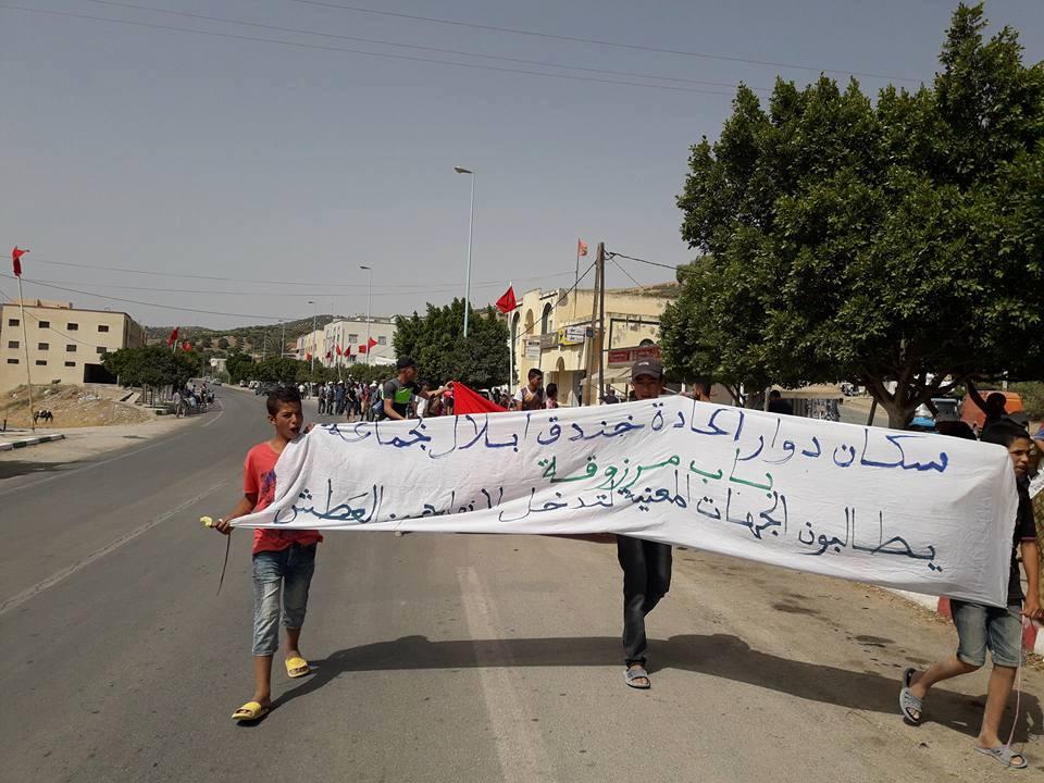صفقة بملايين الدراهم لمحاربة العطش تخرج مسيرة بالبغال والحمير في تازة