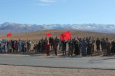 سكان بلدة «كرامة» بإقليم ميدلت يحتجون ضد «العزلة» ويفضحون مشاريع تهيئة متعثرة