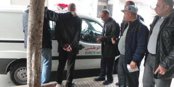 اعتقال حارس أمن خاص بسيدي سليمان ينتحل صفة صحافي