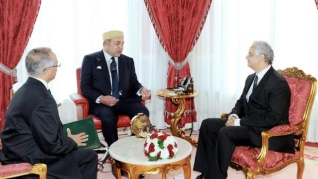 الملك محمد السادس يستقبل نزار بركة
