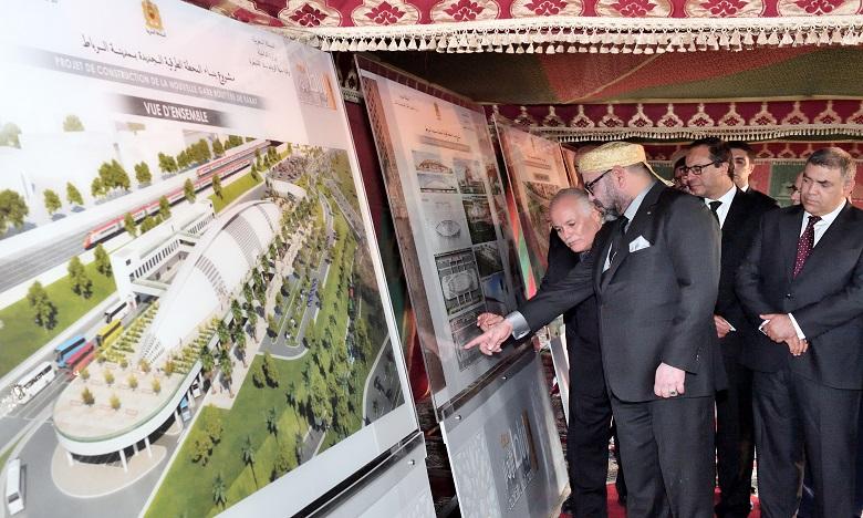 الملك محمد السادس يعطي انطلاقة أشغال بناء المحطة الطرقية الجديدة للرباط