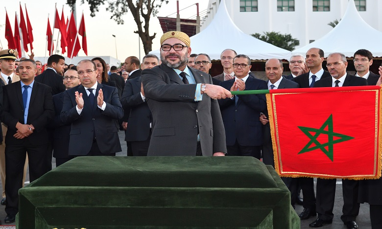 الملك محمد السادس يعطي انطلاقة مشروع تهيئة «سوق الصالحين» بسلا