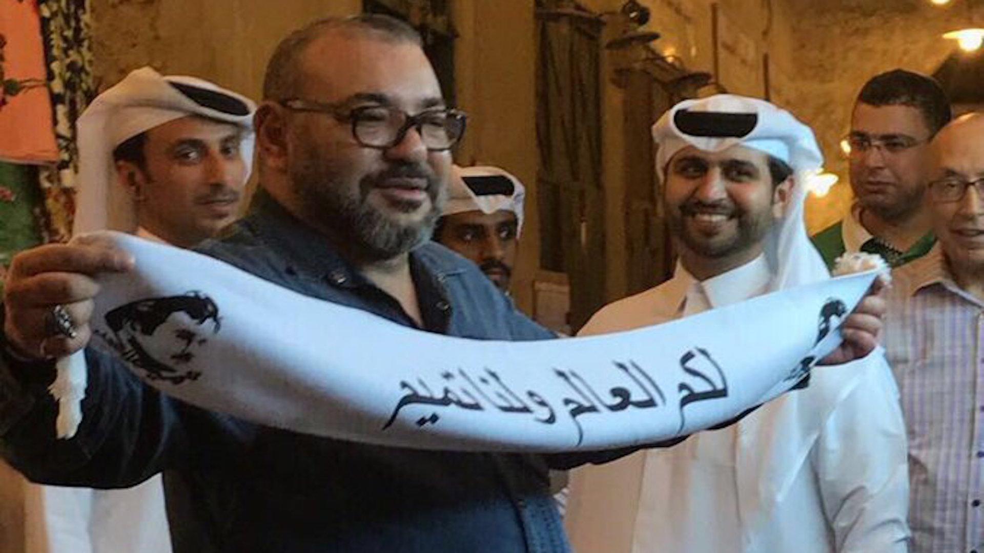 صورة مفبركة للملك محمد السادس تثير الجدل