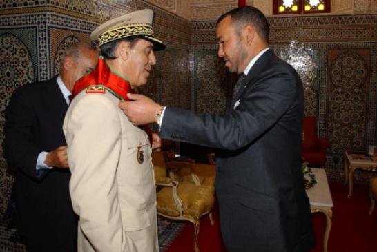 الملك محمد السادس يبعث تعزية في وفاة الجنرال دوكور دارمي عبد الحق القادري