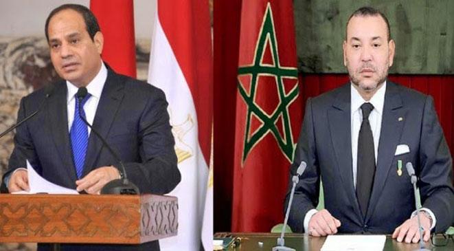 الملك يدين «الاعتداء الآثم» على مسجد بسيناء ويبعث برقية تعزية إلى الرئيس المصري