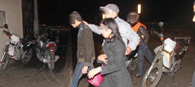 اعتقال شاب وفتاة بسوق السبت اقتحما وكالة لتحويل الأموال وسرقا 10 ملايين