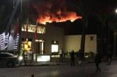 حريق بمطعم شهير قرب المقهى الذي تعرض لهجوم مسلح يستنفر أمن مراكش