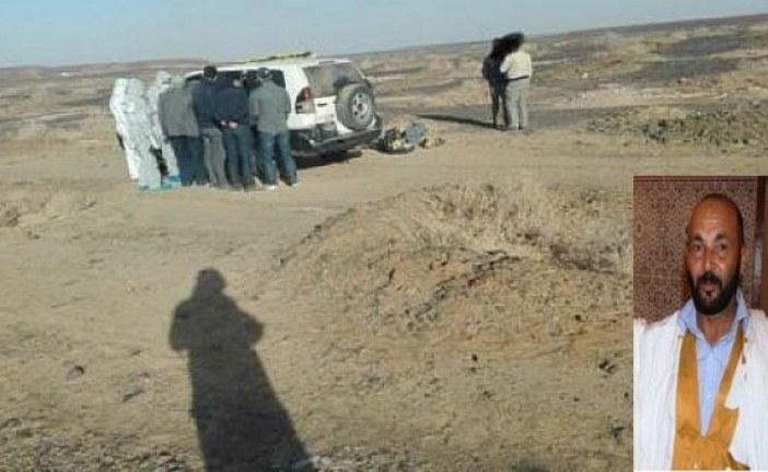 إيقاف المتهم الثالث بقتل أستاذ بالسمارة قرب الجدار الأمني محاولا الفرار إلى تندوف