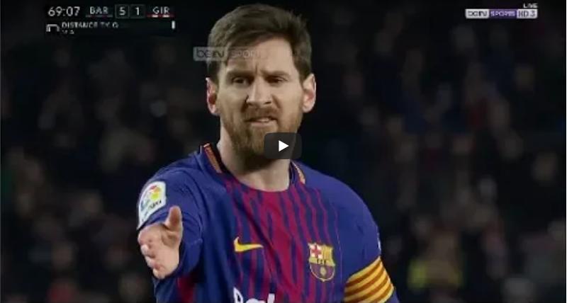 ملخص مباراة برشلونة وجيرونا 6-1 تألق ميسي – هاتريك سواريز وكوتينيو يُسجل