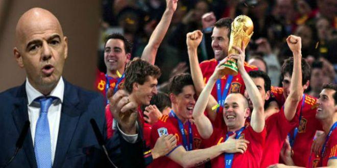 هذا هو القرار النهائي للفيفا بخصوص مشاركة إسبانيا في المونديال