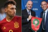 """""""الفيفا"""" يحسم الجدل نهائياً حول مشاركة الحدادي مع المغرب في المونديال"""