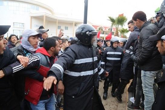 عمالة جرادة تخرج عن صمتها حول إشاعة وفاة شاب جراء حادثة دهس من طرف سيارة الأمن