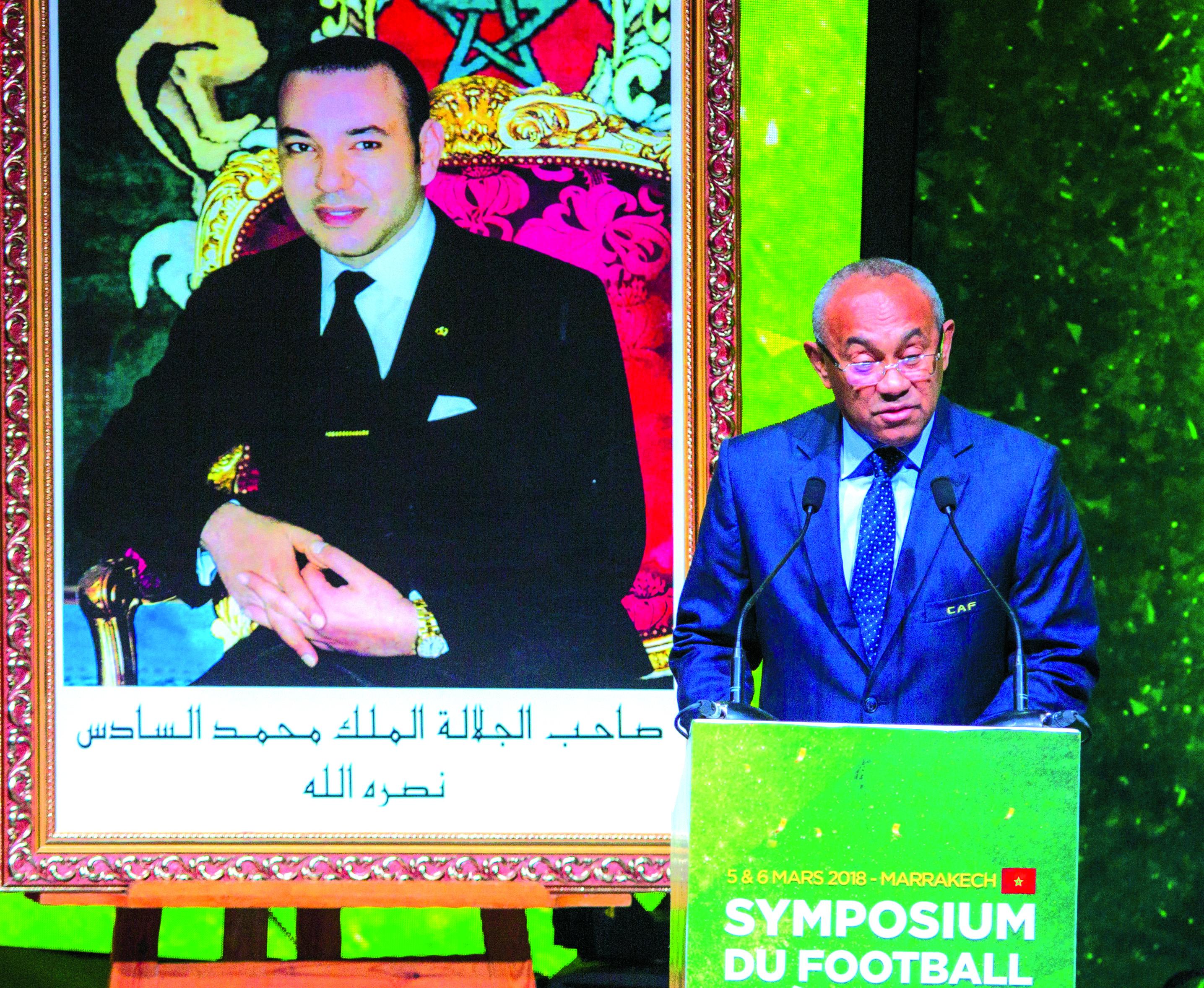 رئيس «الكاف» يكشف لـ«الأخبار» أسباب علاقته الوطيدة مع لقجع وزياراته المتكررة إلى المغرب