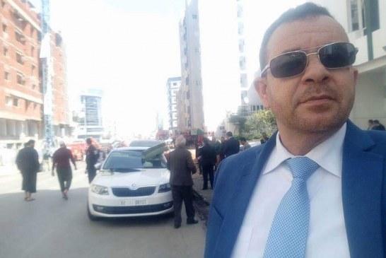 سيلفيلنائب عزيزرباحمع سيارة هشمها سقوط أعمدةيثير الاستهجان على مواقع التواصل الاجتماعي
