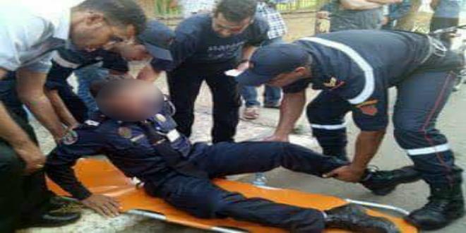 مختل يطعن شرطيا بالرباط والمصالح الأمنية تفتح تحقيقا في الموضوع