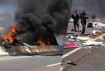 عاجل …هذه حصيلة حادثة سير مميتة على الطريق السيار بين أكادير ومراكش