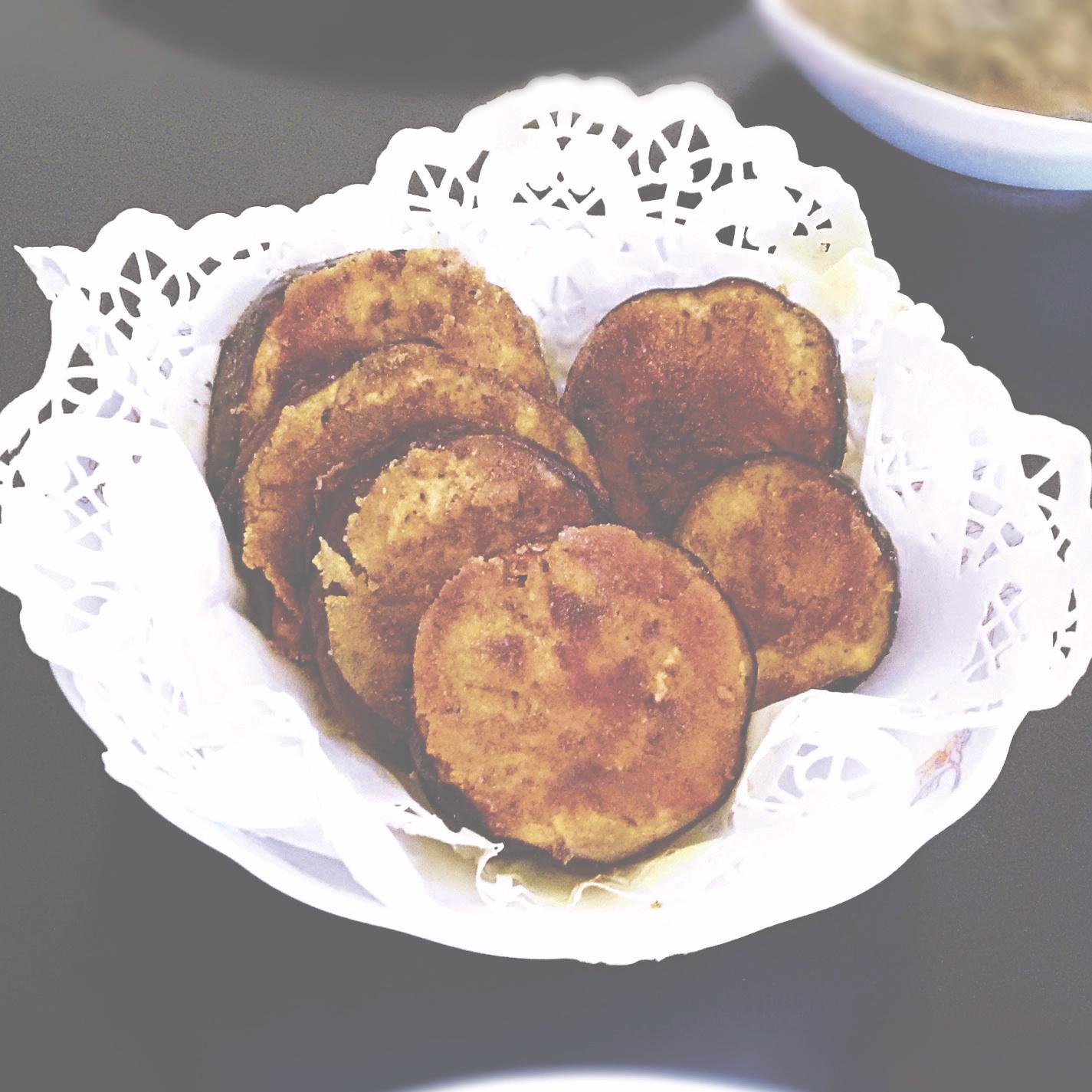 صورة باذنجان بالبطاطس والجبن