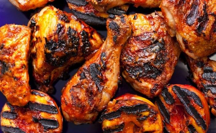 الدجاج المشوي بالأعشاب والتوابل