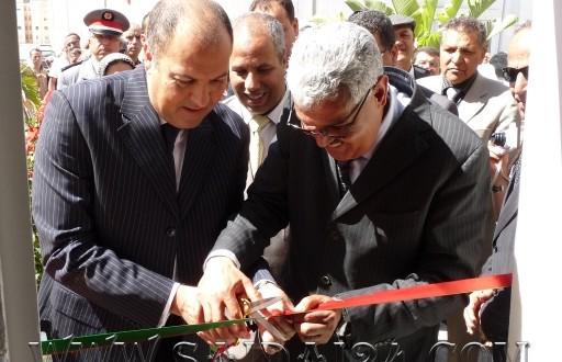 صورة إعفاء رئيس منطقة أمن مدينة السعيدية من مهامه وإلحاقه بالإدارة المركزية