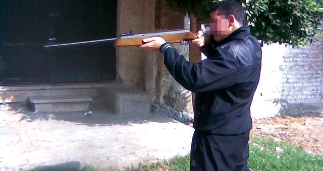 بسبب الإرث شخص يقتل ابن أخيه ببندقية في مولاي عقوب