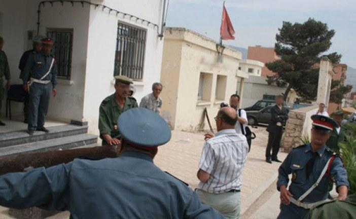 وضع عناصر درك رهن الحراسة النظرية بعد وفاة موقوف خلال حملة تطهيرية بواد أمليل