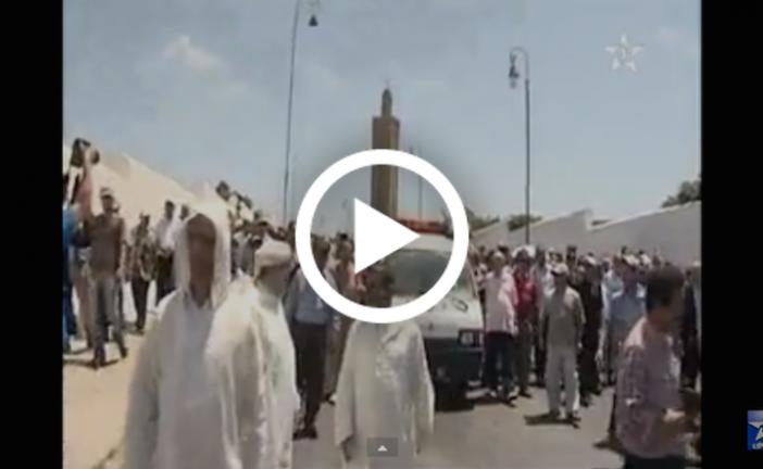 تشييع جثمان وزير الاتصال السابق العربي المساري بالرباط