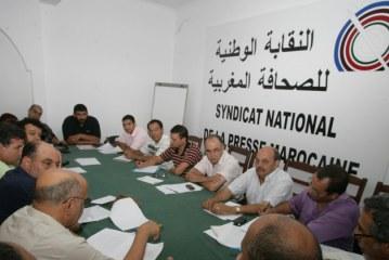 """النقابة الوطنية للصحافة المغربية تراسل الجزيرة للاحتجاج ضد """"وقاحة"""" منصور"""