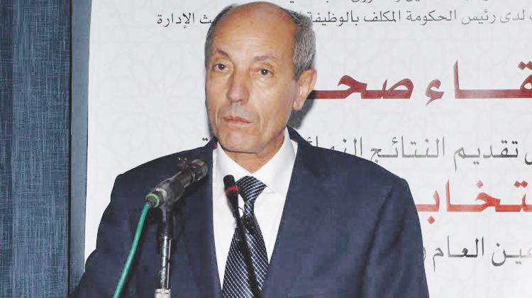 صورة وزير التشغيل والشؤون الإجتماعية، عبد السلام الصديقي