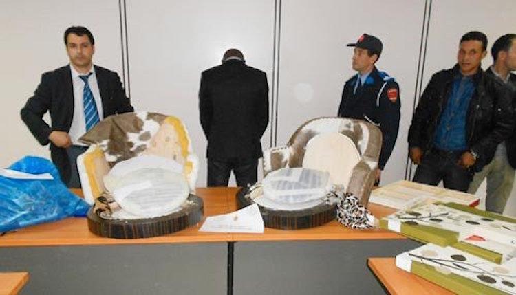 توفيق نيجيري بمطار محمد الخامس بحوزته 3 كيلوغرامات من الكوكايين
