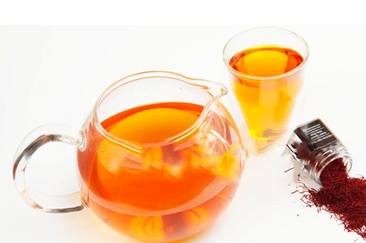 الشاي بالزعفران