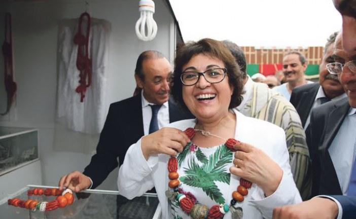 فاطمة مروان، وزيرة الصناعة التقليدية والاقتصاد الاجتماعي والتضامني