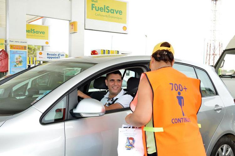فيفو إنيرجي المغرب تقوم بحملة لتحسيس أكثر من 10 آلاف سائق حول السلامة الطرقية