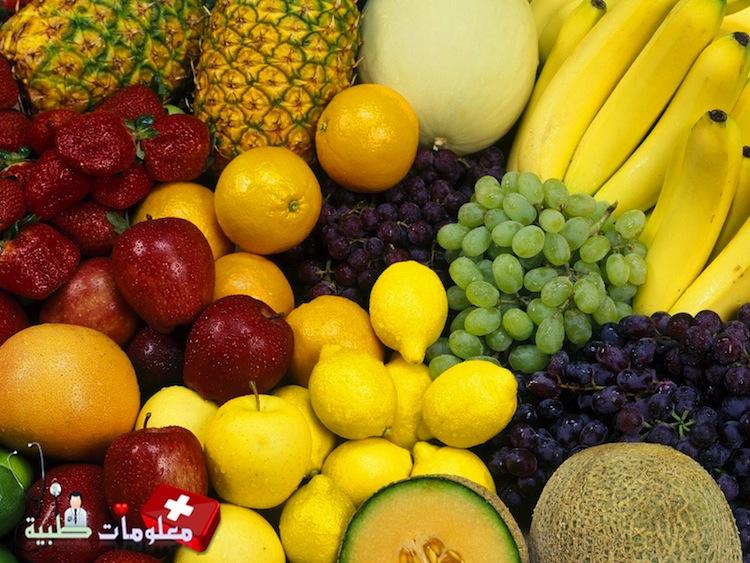 فوائد الأطعمة حسب لونها