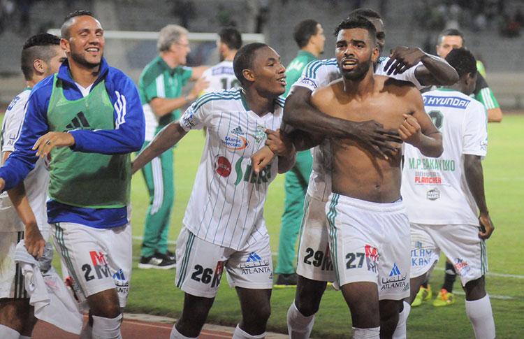صورة الرجاء يصالح جماهيره بلقب كأس شمال إفريقيا