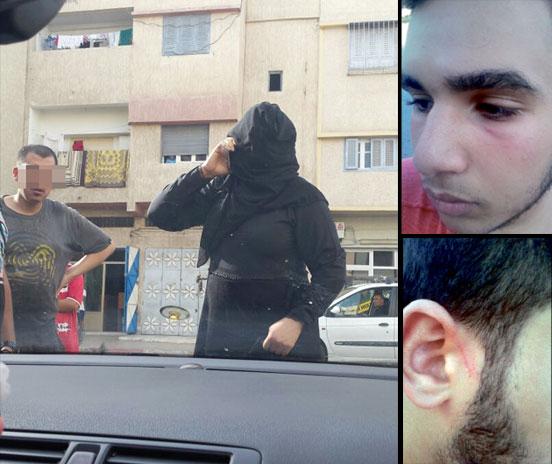 منقبتان تعترضان سيارة أسرة بالرباط وتعتديان على أفرادها بدعوى «تطبيق الشريعة»