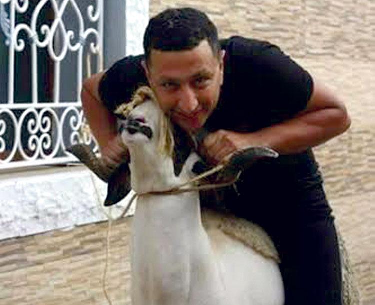 صورة المغني الشعبي عبد الله الداودي