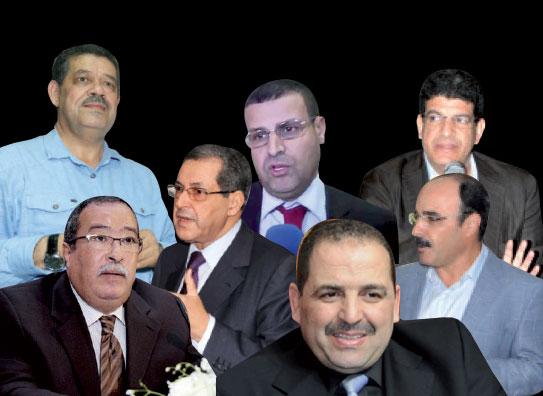 صورة هؤلاء هم أبرز المتنافسين على رئاسيات الجهات من المعارضة والأغلبية