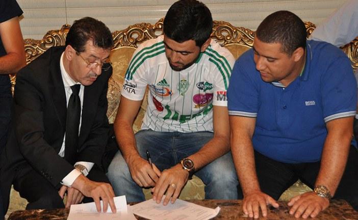 الرجاء يطالب تطوان باستئناف عقوبة جحوح بعد حضوره مباراة الكوكب